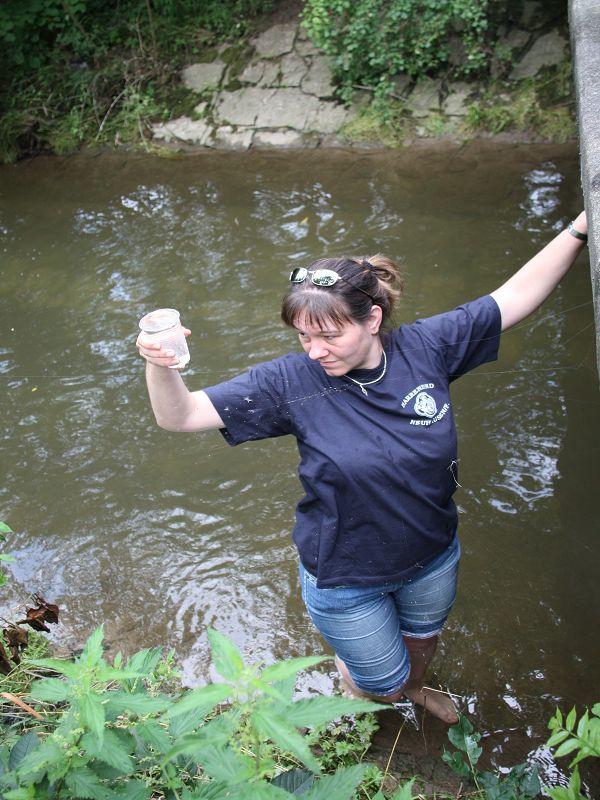 k-Prüfung des Wassers 34